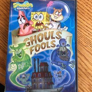Spongebob Ghouls Fools dvd